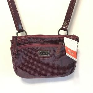 RELIC Burgundy Crossbody Bag - Purse - Brand New